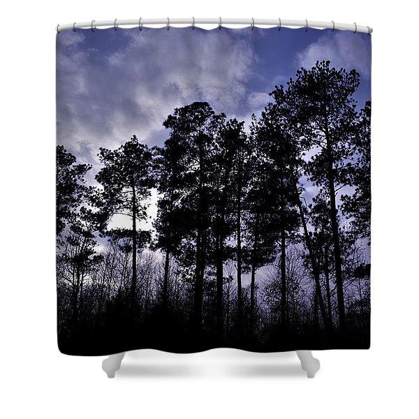Dusk Settles Shower Curtain
