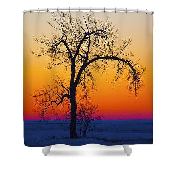 Dusk Surreal.. Shower Curtain