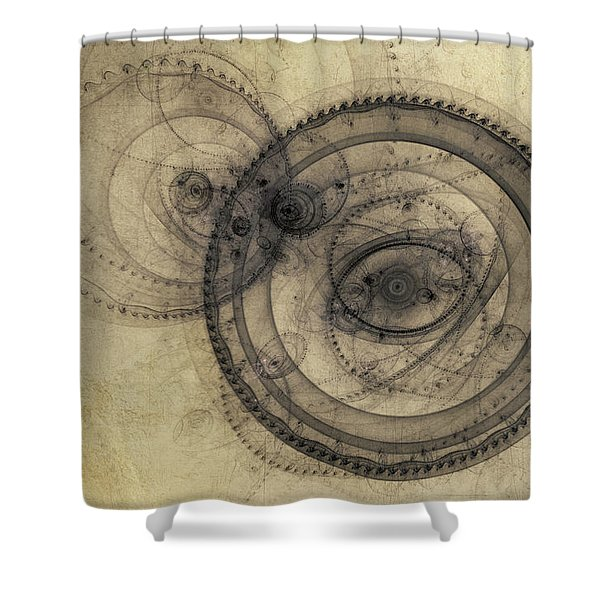 Dust Off The Clock Shower Curtain