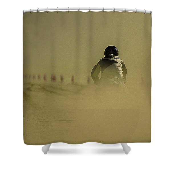 Dusty Exit Shower Curtain