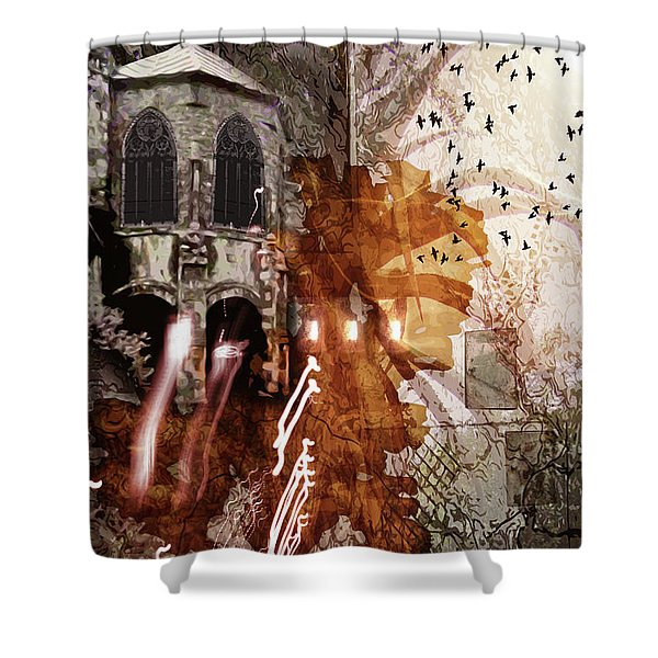 Dwelling Shower Curtain