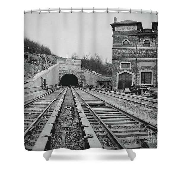 Dyckman Street Station Shower Curtain