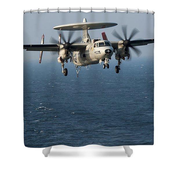E-2c Hawkeye Shower Curtain