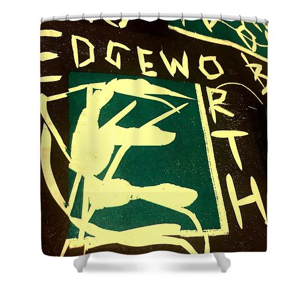 E Cd Cover Art Shower Curtain