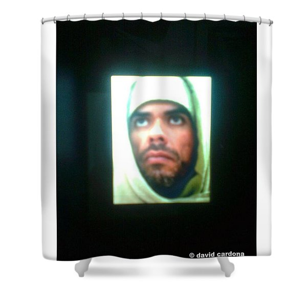 E-mage From Himself For Master Shower Curtain