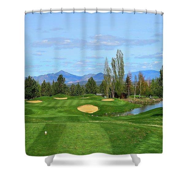 Eagle Crest Resort - Ridge - Hole #16 Shower Curtain