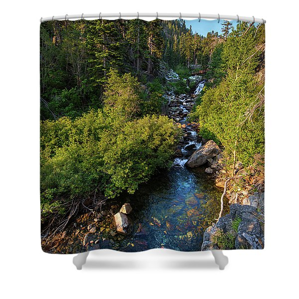Eagle Falls - 1 Shower Curtain