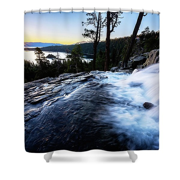 Eagle Falls At Emerald Bay Shower Curtain