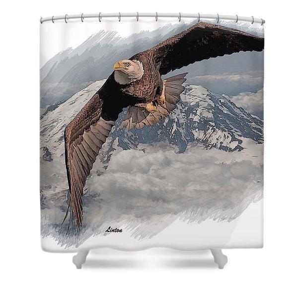 Eagle Flight 6 Shower Curtain
