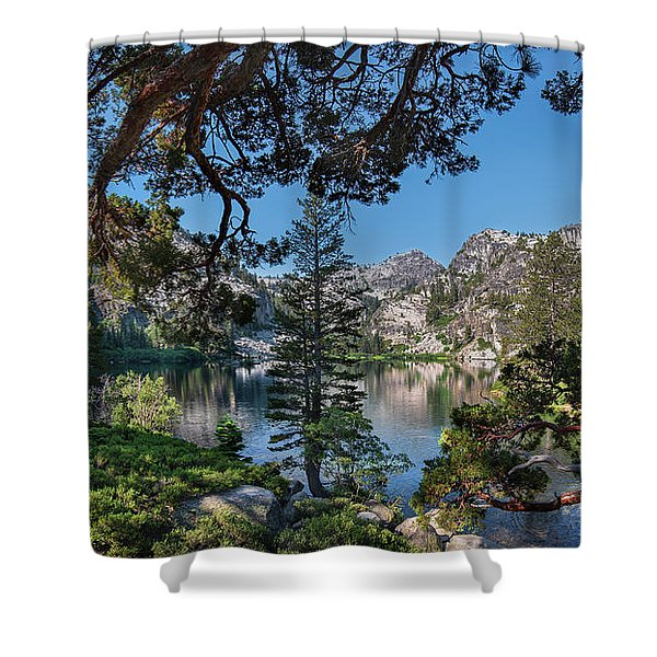 Eagle Lake - 2 Shower Curtain