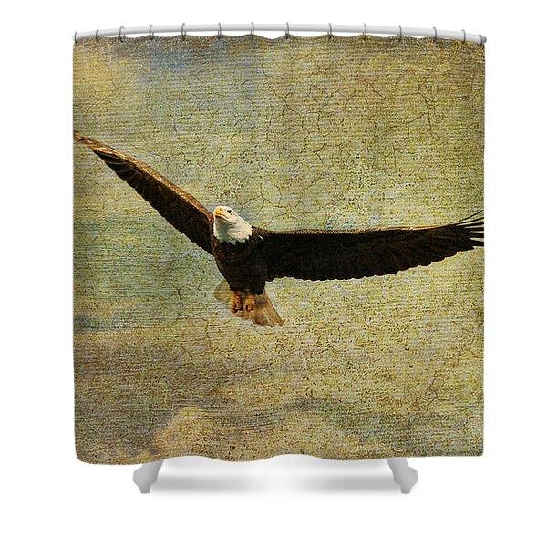 Eagle Medicine Shower Curtain