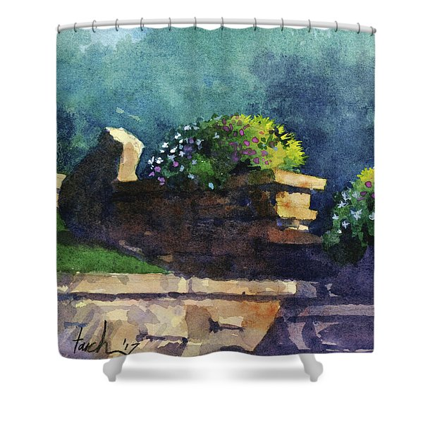 Eagle Point Planter Shower Curtain