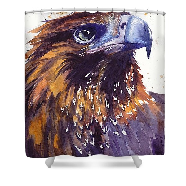 Eagle's Head Shower Curtain