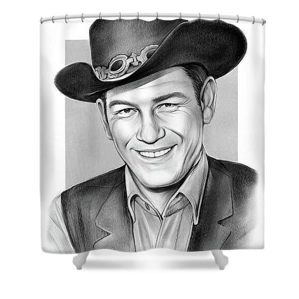 Earl Holliman Shower Curtain