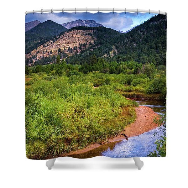 Shower Curtain featuring the photograph Early Autumn In Colorado by John De Bord