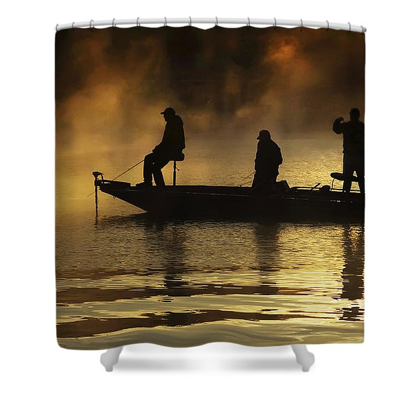 Early Casting Call Shower Curtain