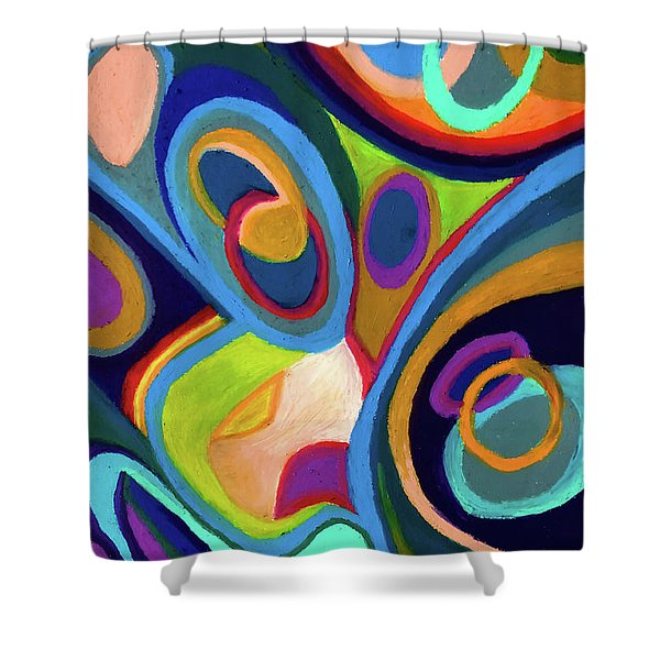 Early Complexities Shower Curtain