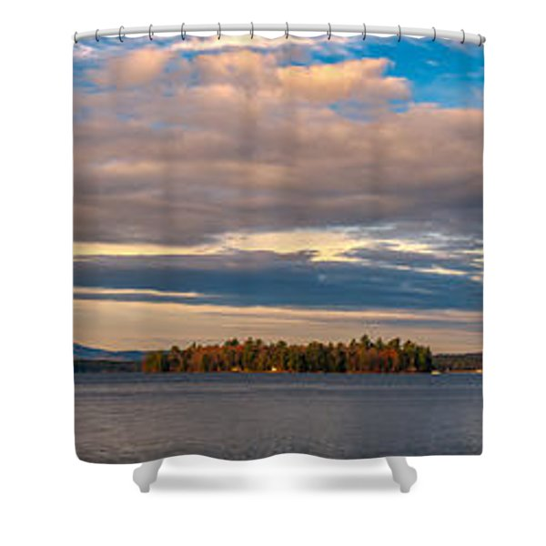 Early Morning At Lake Wentworth Shower Curtain