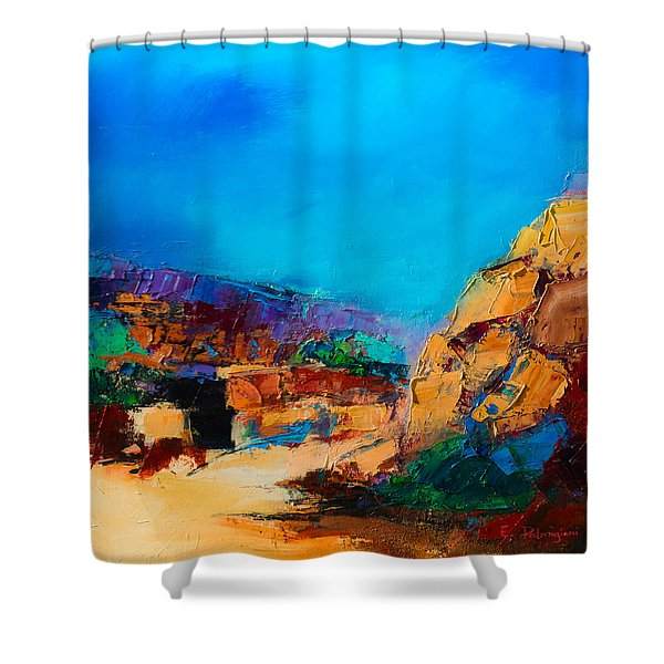 Early Morning Over The Canyon Shower Curtain