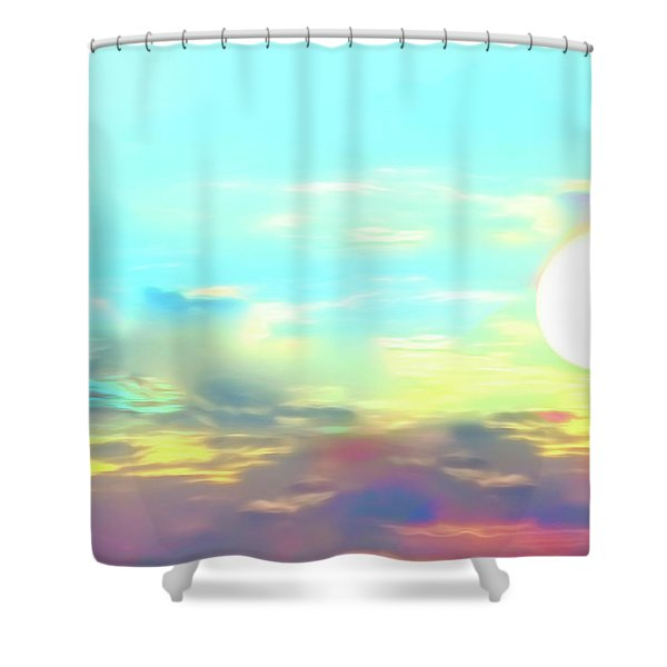 Early Morning Rise- Shower Curtain
