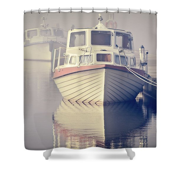 Early Morning Softness Shower Curtain