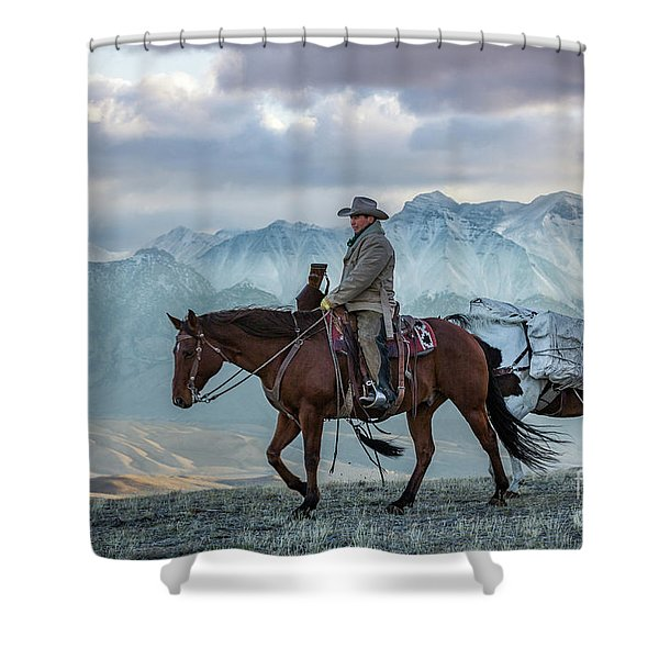 Early October Hunt Wild West Photography Art By Kaylyn Franks Shower Curtain