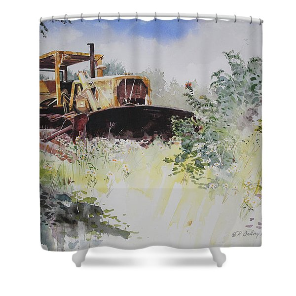 Early Retirement Shower Curtain