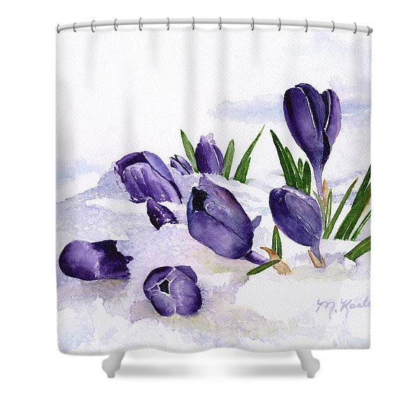 Early Spring In Montana Shower Curtain
