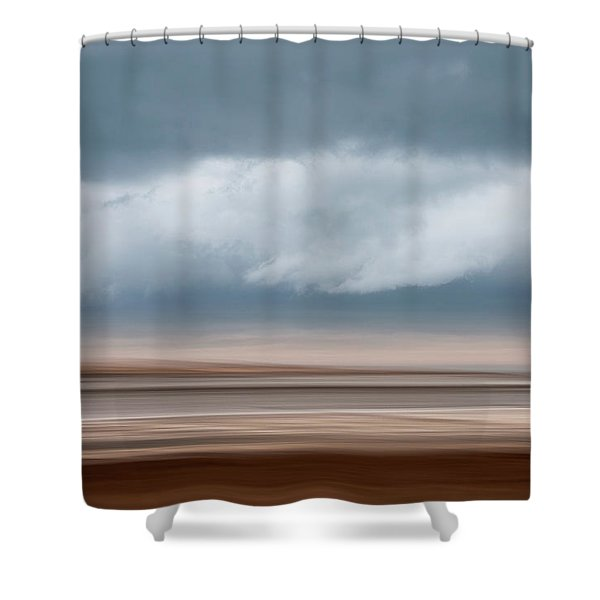 Early Winter At Sandy Neck Shower Curtain