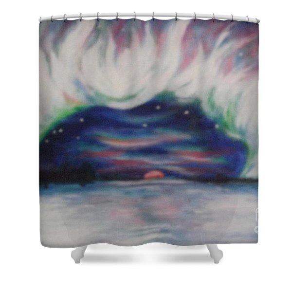 Earth Crown Shower Curtain
