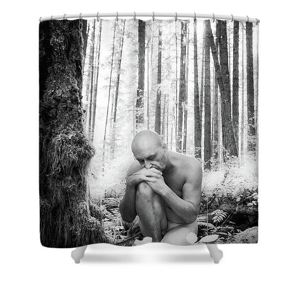 Earth Man Shower Curtain
