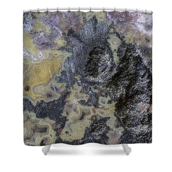 Earth Portrait 001-168 Shower Curtain