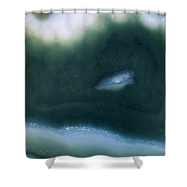 Earth Portrait 003 Shower Curtain