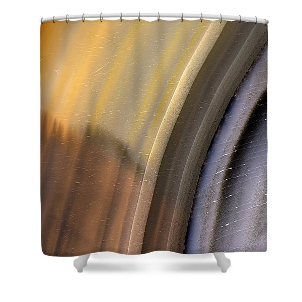 Earth Portrait 004 Shower Curtain
