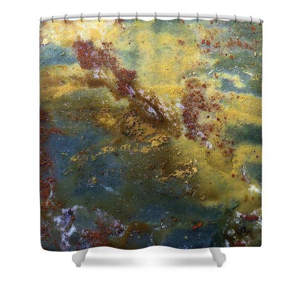 Earth Portrait 008 Shower Curtain