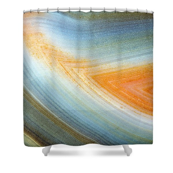 Earth Portrait 092 Shower Curtain