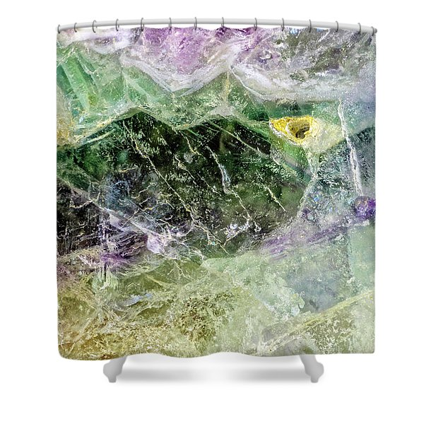 Earth Portrait 268 Shower Curtain