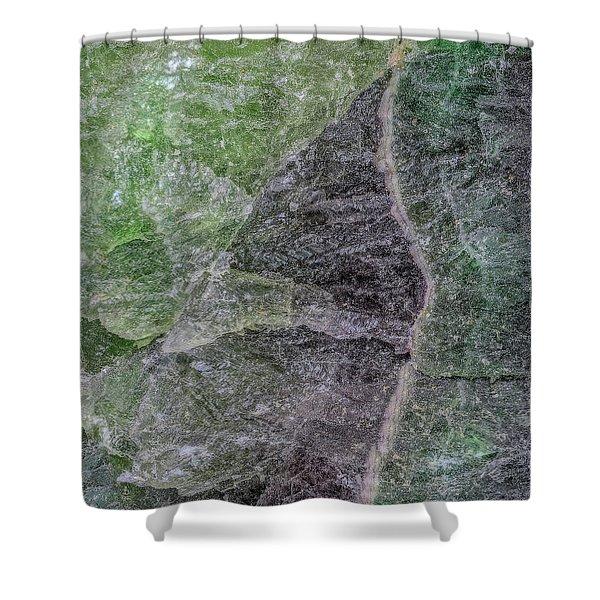 Earth Portrait 294 Shower Curtain