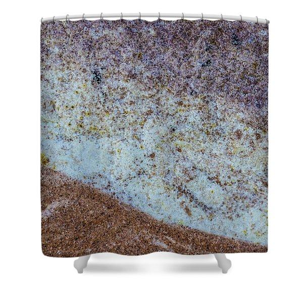 Earth Portrait L3 Shower Curtain
