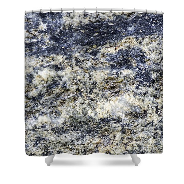 Earth Portrait L5 Shower Curtain
