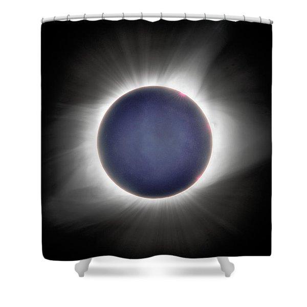 Earth-shine Shower Curtain