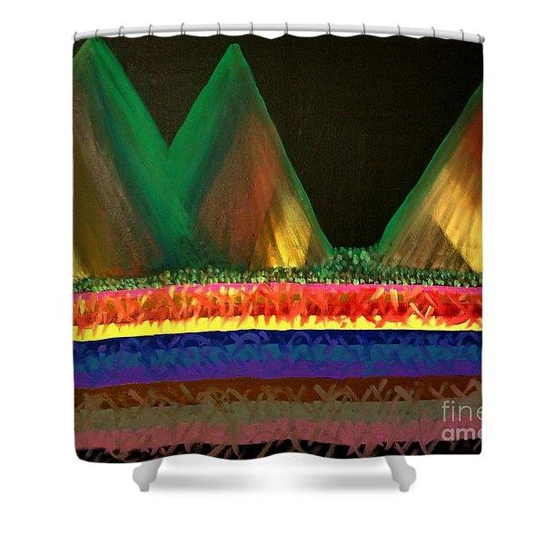 Earth Spirits Shower Curtain