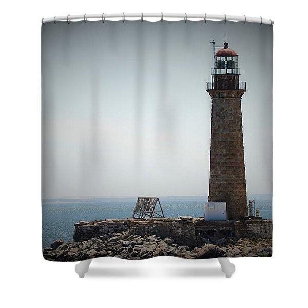 East Coast Lighthouse Shower Curtain