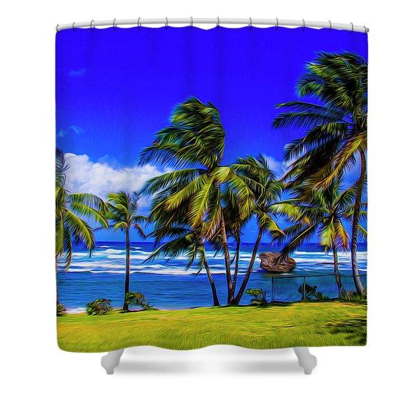 East Coast Shower Curtain