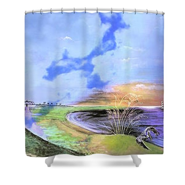 East Cooper Shower Curtain