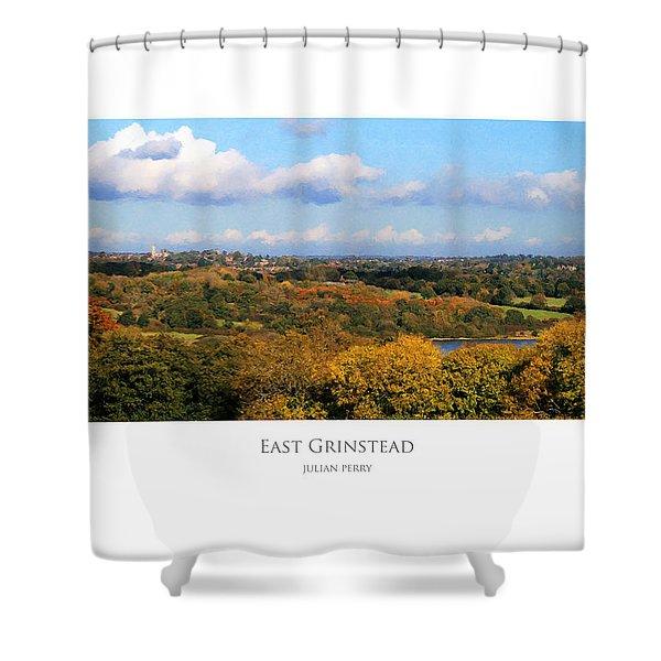 East Grinstead Shower Curtain