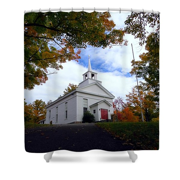 East Jewett Church Shower Curtain