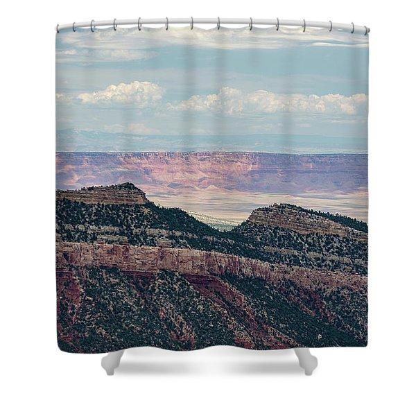 East Kaibab Monocline Shower Curtain