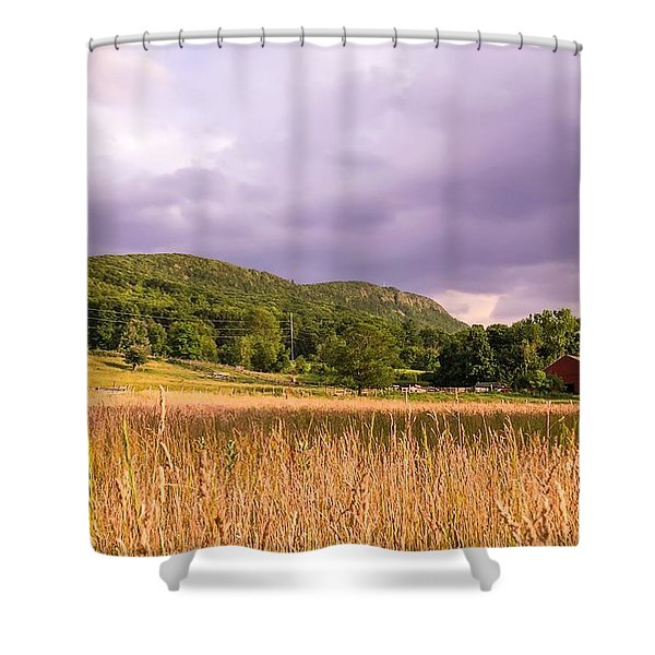 East Street View Shower Curtain
