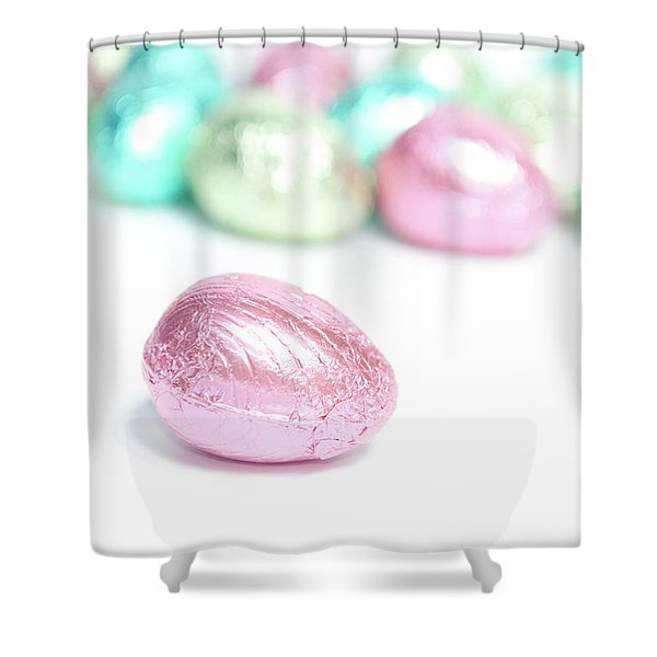 Easter Eggs II Shower Curtain